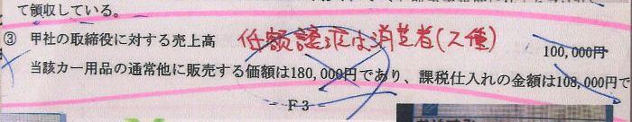 14税理士試験消費税法ミスノート