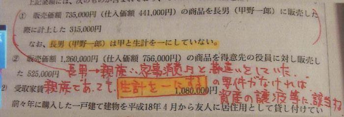 161税理士試験消費税法ミスノート