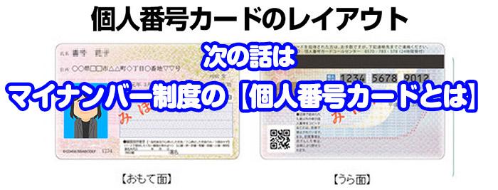 6税理士がマイナンバー制度の【個人番号カードとは】
